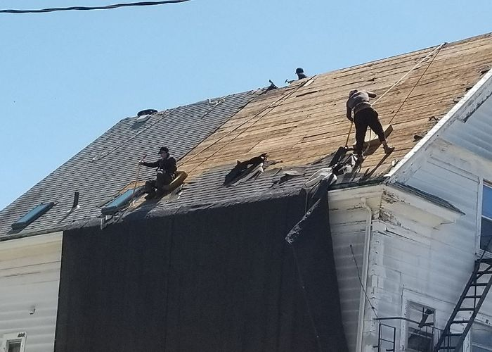 roof replacement in Warwick